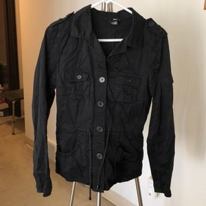 H&M Divided Women's Military Jacket